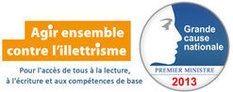 "L'illettrisme, ""Grande cause nationale 2013"" !"
