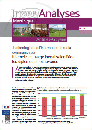 INSEE Analyses 33 - internet martinique